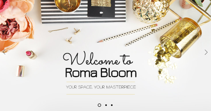 A Little Roma Bloom for Your Room